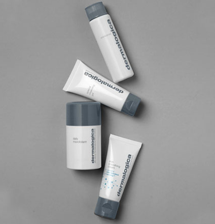 Images of products in the Daily Skin Health Range