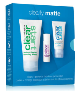 Clear Start Clearly Matte Skincare Kit