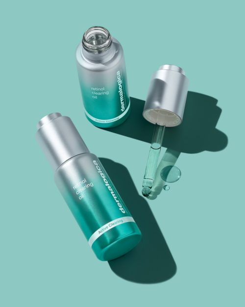 Image of two bottles of Retinol Clearing Oil
