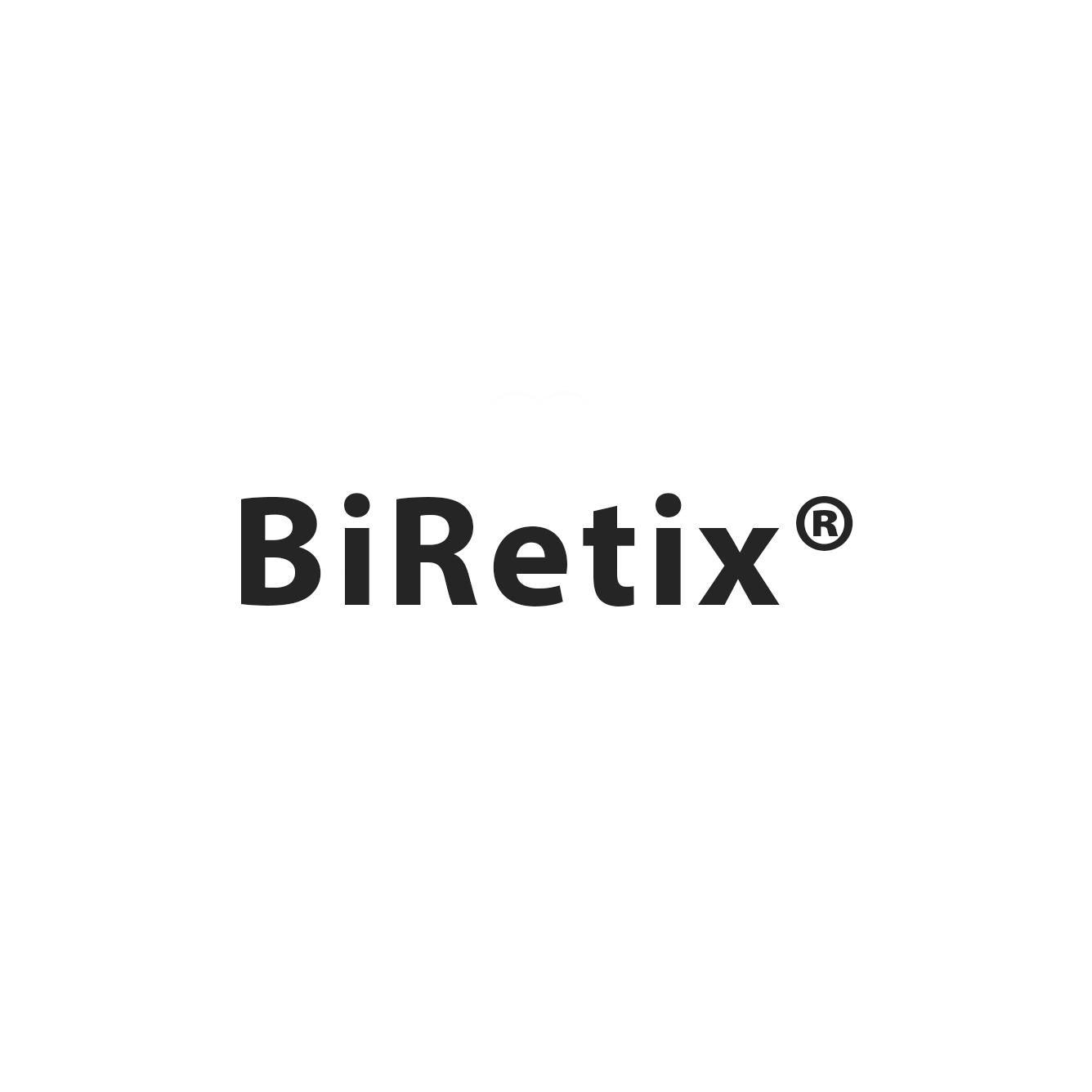 Biretix logo written in black