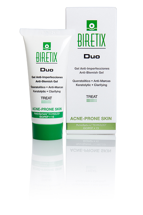 Image of the BiRetix Duo and the box that it comes in